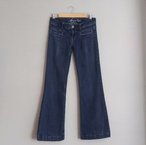 American Eagle Outfitters Dark Wash Flare Jeans
